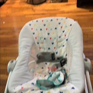 Mikey mouse baby bouncer , holds up to 25 pounds